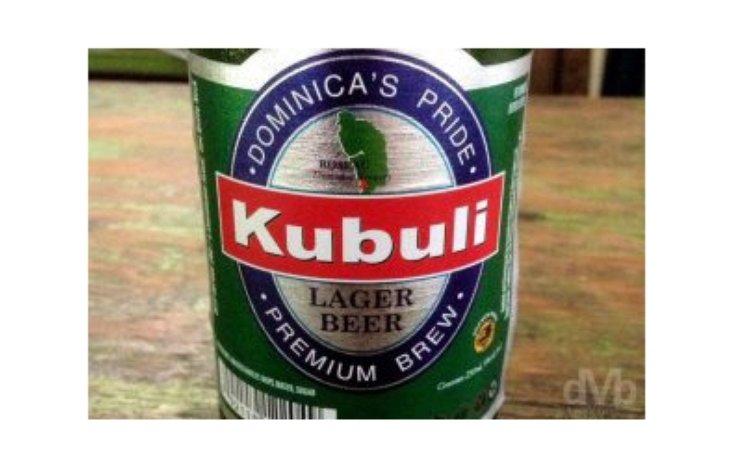 Label of Kubuli beer