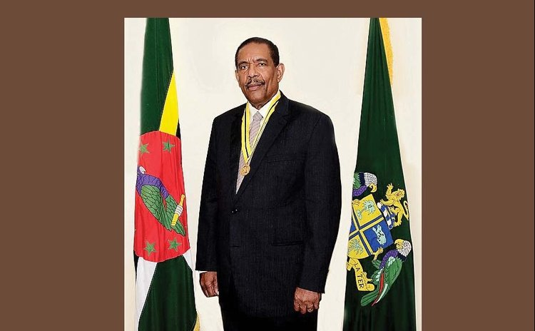 President of Dominica, His Excellency Charles Savarin