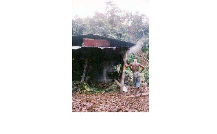 A traditional bayoil distillery